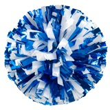 Two-color Mix Metallic Pom, 6 in.