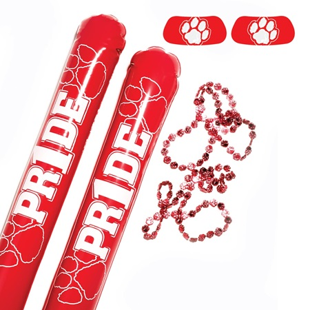 Red/White Paw Pride Pack