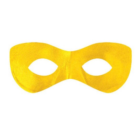 Yellow Superhero Mask
