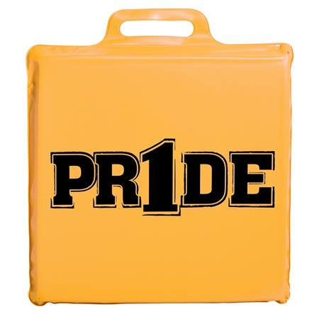 """Pr1de"" Seat Cushion - Bright Gold"