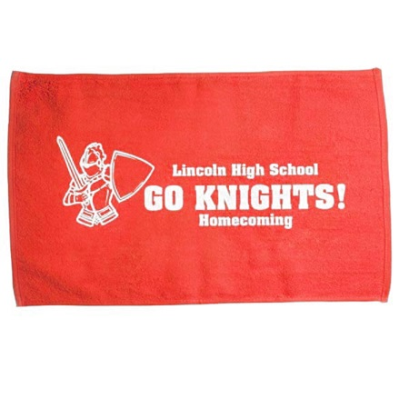 Red Spirit Rally Towel