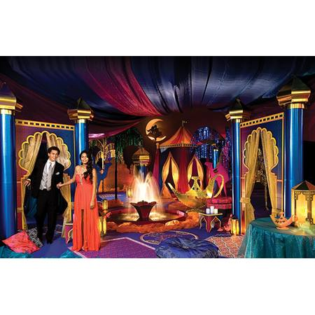 Aladdin 39 s paradise complete prom theme anderson 39 s for Aladdin decoration ideas