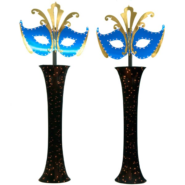 Mystery and Magic Mask Columns Kit - set of 2