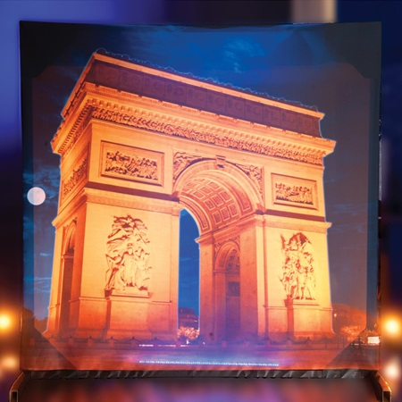Viva-Color Photographic Fabric Panel - Small