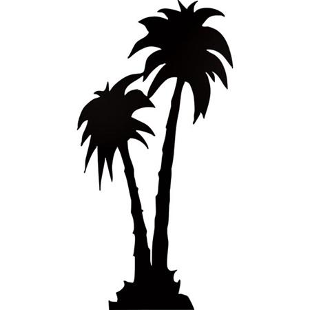 Palm Trees Silhouette Palm Tree Silhouette Theme Kit