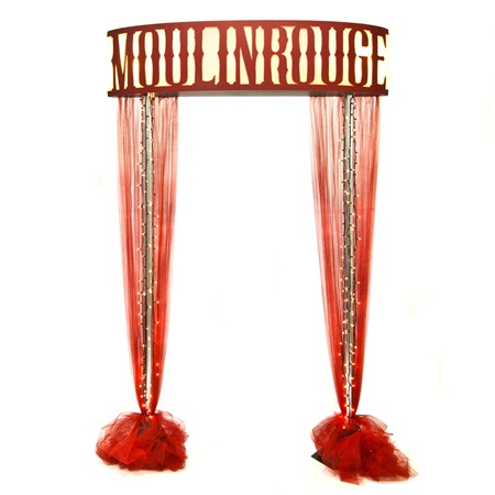 Welcome to the Moulin Rouge Arch Kit