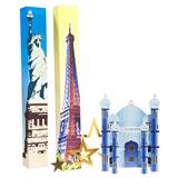 International Love Columns and Silhouette Kit