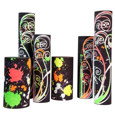 Neon Prom Power Columns Kit - Set of 6
