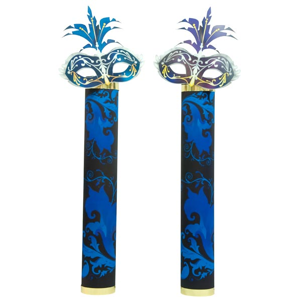 Secrecy and Mystery Mask Columns Kit - set of 2