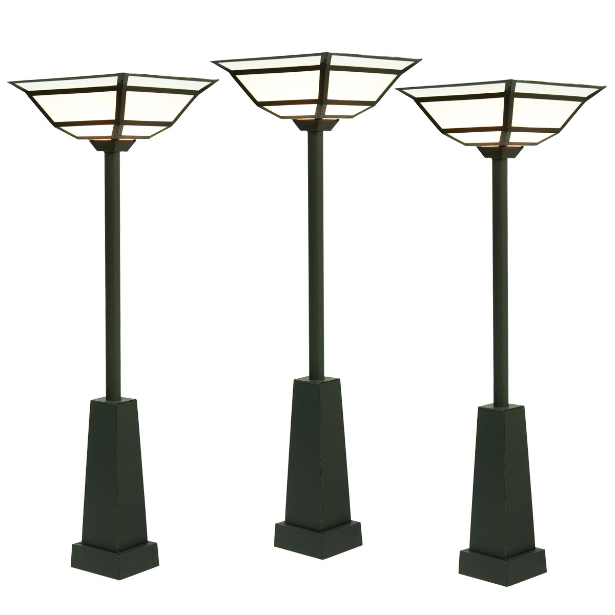 Luxuriant '20's Lampposts Kit ( Set of 3 )