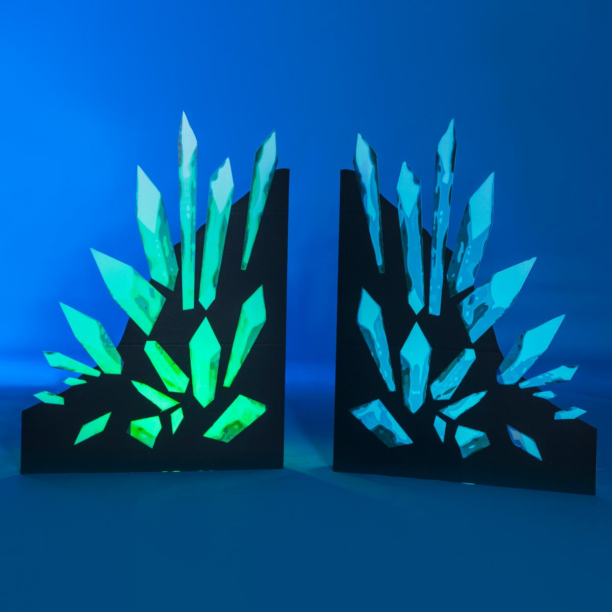 Emerald and Sapphire Spikes Kit (set of 2)