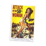 Attack of the 50 Ft. Woman Movie Poster