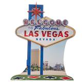 Las Vegas Sign Life Size Stand Up