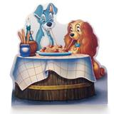 Lady and the Tramp Life Size Stand Up