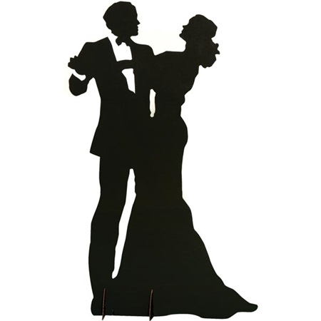 Dancing Couple Silhouette Kit