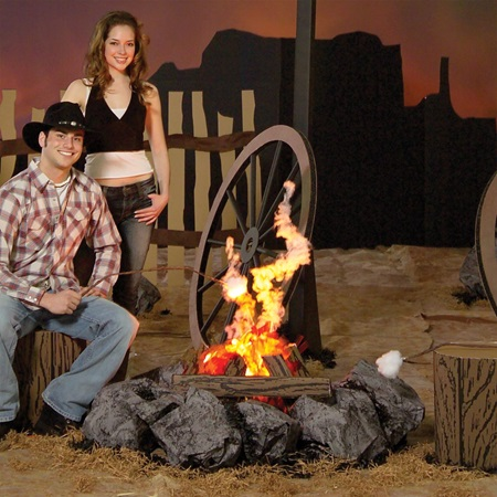 Old Cowhands Fire Pit Kit