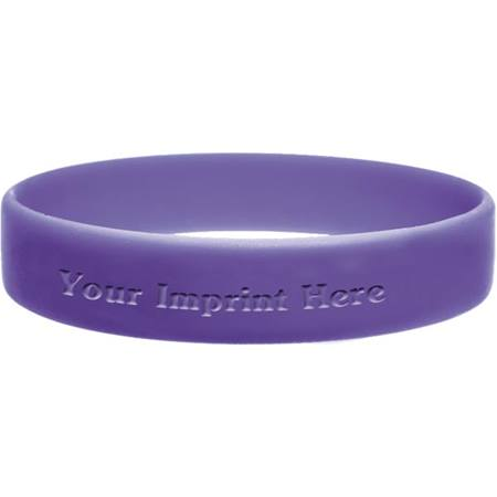 Personalized Laser Engraved Wristband - Small