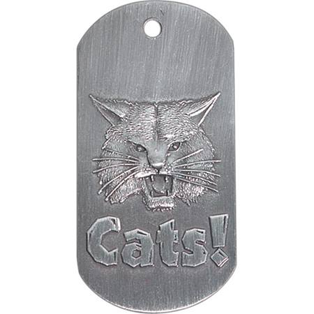Embossed Dog Tag - Wildcat