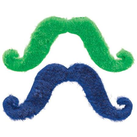 Colored Mustaches