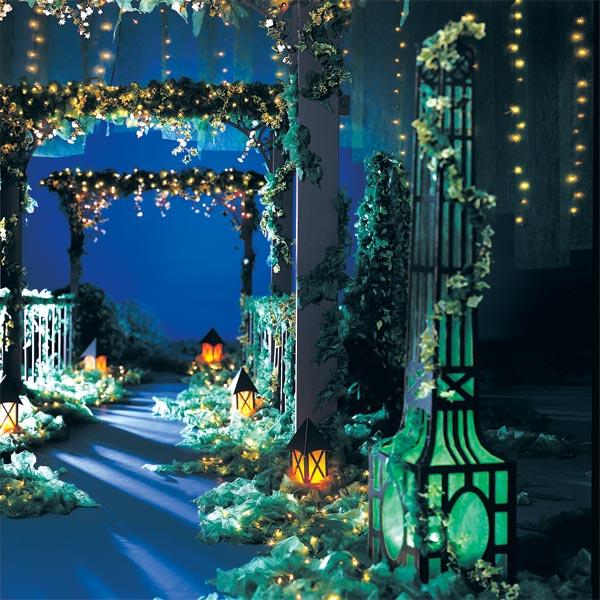 Le jardin de l 39 amour complete prom theme anderson 39 s for Decoration theme jardin